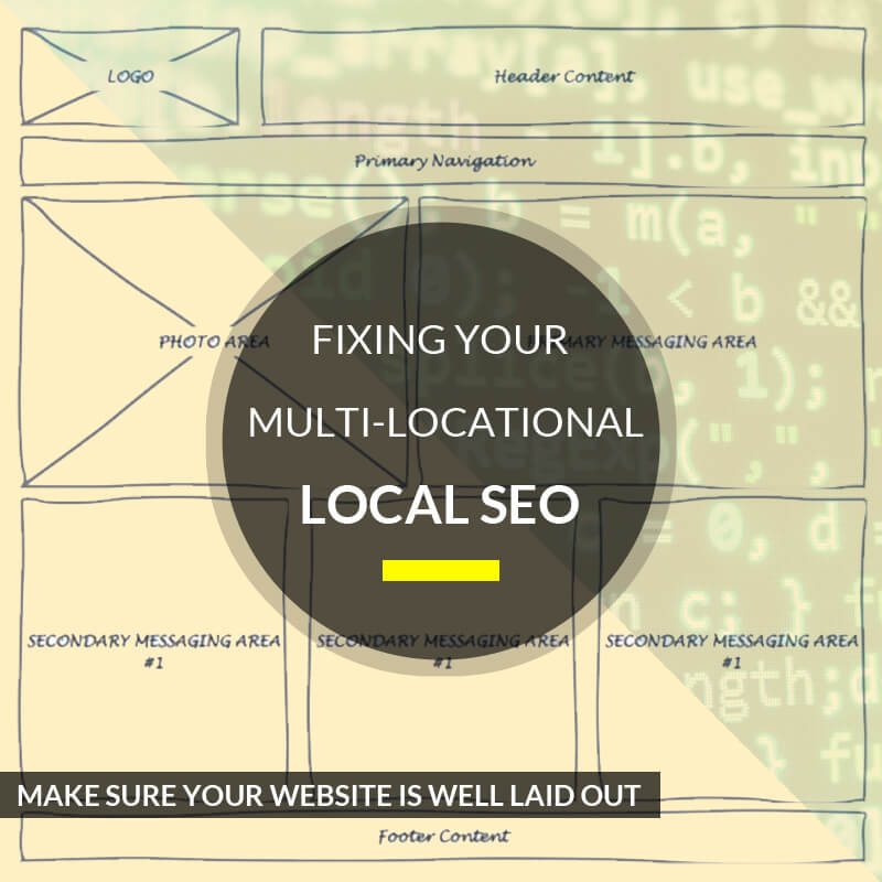 Fixing Your Multi-Locational Local SEO