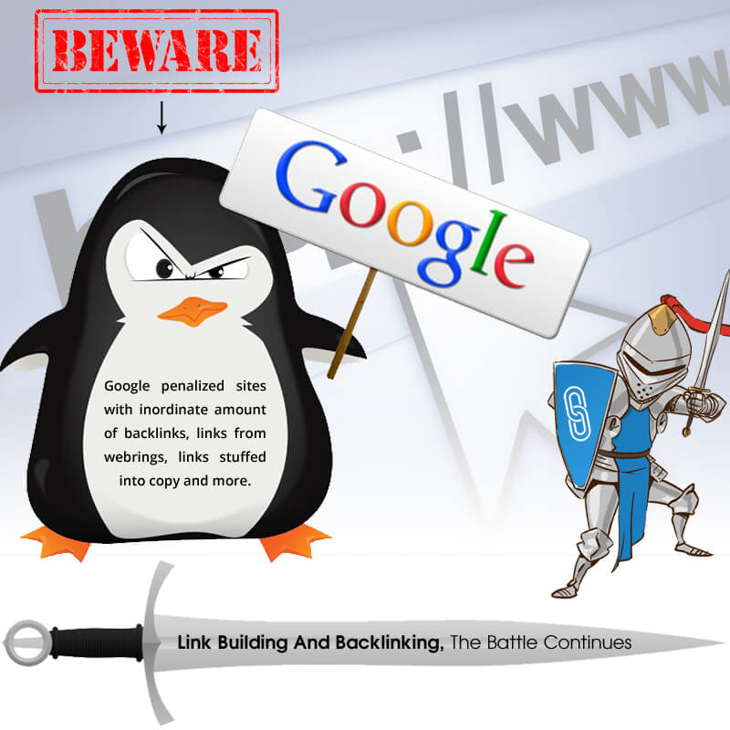 SEO Tips - Link Building And Backlinking, The Battle Continues
