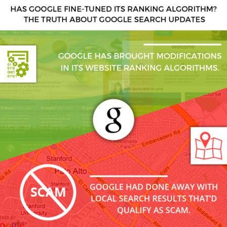 Has Google fine-tuned its ranking algorithm?
