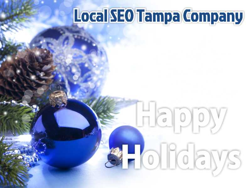 Wishing Happy Holidays from Local SEO Tampa