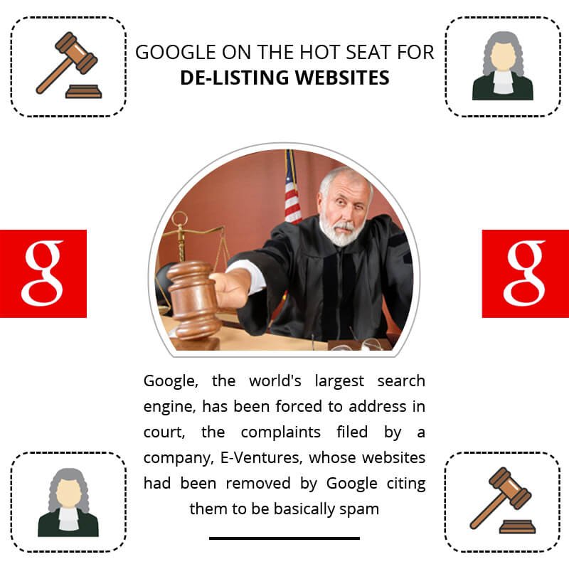 Google On The Hot Seat For De-listing Websites