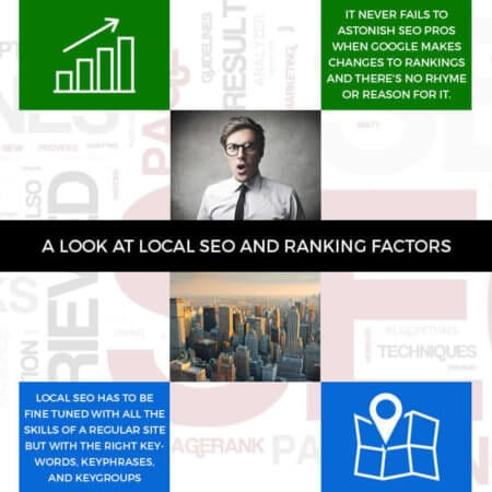 A Look At Local SEO And Ranking Factors