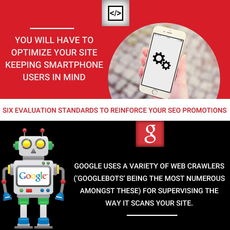Six Evaluation Standards to Reinforce Your SEO Promotions