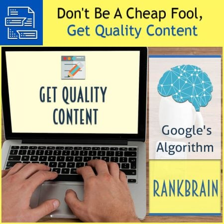 Don't Be A Cheap Fool, Get Quality Content
