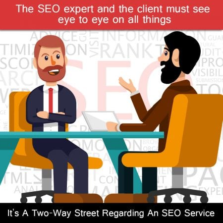 It's A Two-Way Street Regarding An SEO Service