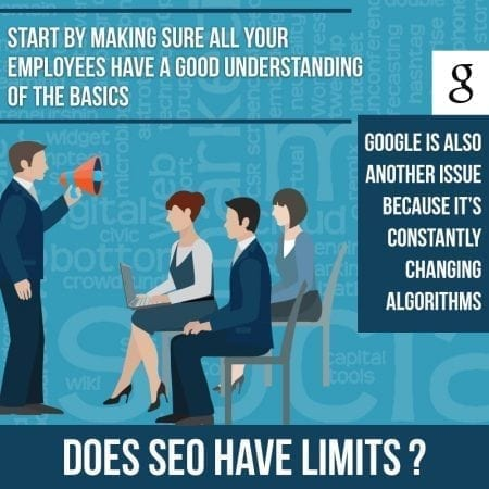 What are the limitations of SEO?