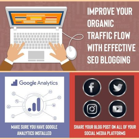 Improve Your Organic Traffic Flow With Effective SEO Blogging