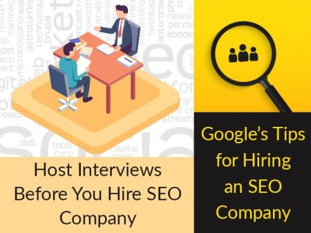 Google's Tips For Hiring An SEO Company